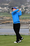 Tom Kite at the 7th Tee at Pebble Beach Golf Links
