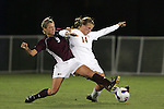 7 November 2007: Boston College's Kelly Henderson (9) tries to tackle the ball away from Florida State's Kirsten van de Ven (14). Florida State University defeated Boston College 1-0 at the Disney Wide World of Sports complex in Orlando, FL in an Atlantic Coast Conference tournament quarterfinal match.