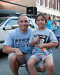 Post race photo with Kevin and Kaela Kikawa during the Main Street Mile in downtown Boise, Idaho on June 22, 2012.
