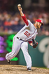 20 May 2014: Washington Nationals pitcher Ryan Mattheus on the mound against the Cincinnati Reds at Nationals Park in Washington, DC. The Nationals defeated the Reds 9-4 to take the second game of their 3-game series. Mandatory Credit: Ed Wolfstein Photo *** RAW (NEF) Image File Available ***