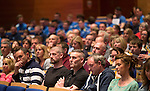 St Johnstone FC Youth Academy Presentation Night at Perth Concert Hall..21.04.14<br /> Parents and family of the youth team players watch the presentations.<br /> Picture by Graeme Hart.<br /> Copyright Perthshire Picture Agency<br /> Tel: 01738 623350  Mobile: 07990 594431