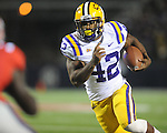 LSU running back Michael Ford (42)  runs for a touchdown in the third quarter vs. Ole Miss at Vaught-Hemingway Stadium in Oxford, Miss. on Saturday, November 19, 2011.