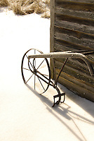 Old Plow in Winter