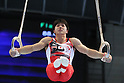 Koji Yamamuro (JPN), JULY 2, 2011 - Artistic gymnastics : Japan Cup 2011 Men's Team Competition Rings at Tokyo Metropolitan Gymnasium, Tokyo, Japan. (Photo by YUTAKA/AFLO SPORT) [1040]