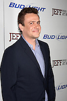 "LOS ANGELES - MAR 7:  Jason Segel arrives at the ""Jeff, Who Lives At Home"" - Los Angeles Premiere at the Directors Guild Of America on March 7, 2012 in Los Angeles, CA"