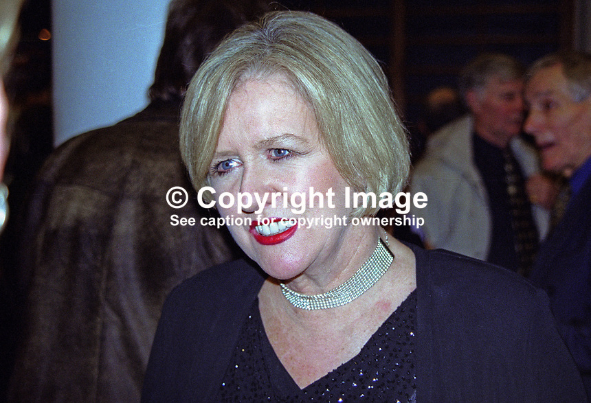 Eileen Reid, Dublin, Rep of Ireland, showband singer, most famously with the Cadets. As well as appearing in pantomine she was a songwriter. 2000125003.<br /> <br /> Copyright Image from Victor Patterson, 54 Dorchester Park, Belfast, UK, BT9 6RJ<br /> <br /> t1: +44 28 9066 1296 (from Rep of Ireland 048 9066 1296)<br /> t2: +44 28 9002 2446 (from Rep of Ireland 048 9002 2446)<br /> m: +44 7802 353836<br /> <br /> e1: victorpatterson@me.com<br /> e2: victorpatterson@gmail.com<br /> <br /> www.victorpatterson.com<br /> <br /> IMPORTANT: Please see my Terms and Conditions of Use at www.victorpatterson.com