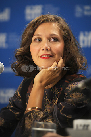 Maggie Gyllenhaal at the Hysteria press conference during 2011 Toronto International Film Festival at TIFF Bell Lightbox on September 15, 2011 in Toronto, Canada. © mpi01 / MediaPunch Inc.