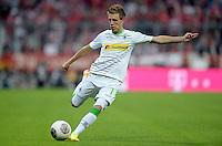 Fussball  1. Bundesliga  Saison 2013/2014   1. SPIELTAG FC Bayern Muenchen - Borussia Moenchengladbach       09.08.2013 Patrick Herrmann (Borussia Moenchengladbach) Einzelaktion am Ball