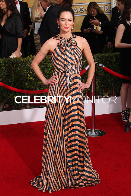 LOS ANGELES, CA - JANUARY 18: Lena Headey at the 20th Annual Screen Actors Guild Awards held at The Shrine Auditorium on January 18, 2014 in Los Angeles, California. (Photo by Xavier Collin/Celebrity Monitor)