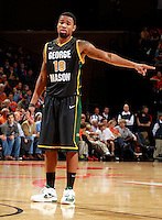 CHARLOTTESVILLE, VA- DECEMBER 6: Sherrod Wright #10 of the George Mason Patriots during the game on December 6, 2011 against the Virginia Cavaliers at the John Paul Jones Arena in Charlottesville, Virginia. Virginia defeated George Mason 68-48. (Photo by Andrew Shurtleff/Getty Images) *** Local Caption *** Sherrod Wright