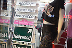 Souvenir shop on Hollywood Blvd, Hollywood, Los Angeles, CA
