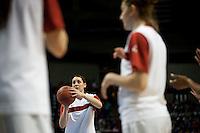 SPOKANE, WA - MARCH 26, 2011: Ashley Cimino, Stanford Women's Basketball vs University of North Carolina, NCAA West Regionals on March 26, 2011.