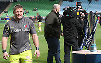 Leicester Tigers&rsquo; Tom Youngs<br /> <br /> Photographer Rachel Holborn/CameraSport<br /> <br /> Anglo-Welsh Cup Final - Exeter Chiefs v Leicester Tigers - Sunday 19th March 2017 - The Stoop - London<br /> <br /> World Copyright &copy; 2017 CameraSport. All rights reserved. 43 Linden Ave. Countesthorpe. Leicester. England. LE8 5PG - Tel: +44 (0) 116 277 4147 - admin@camerasport.com - www.camerasport.com