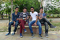 Iraq 2015  Teenagers in a park of Erbil<br />
