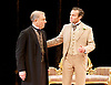 An Ideal Husband by Oscar Wilde<br /> at Festival Theatre Chichester, Great Britain <br /> 25th November 2014 <br /> <br /> directed by Rachel Kavanaugh <br /> <br /> <br /> <br /> Edward Fox as The Earl of Caversham <br /> <br /> Jamie Glover as Lord Goring <br /> <br /> <br /> <br /> <br /> <br /> <br /> Photograph by Elliott Franks <br /> Image licensed to Elliott Franks Photography Services