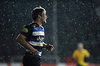 Max Clark of Bath United is all smiles after scoring a try. Aviva A-League match, between Bath United and Bristol United on December 28, 2015 at the Recreation Ground in Bath, England. Photo by: Patrick Khachfe / Onside Images