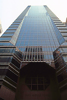 Helmut Jahn: Park Avenue Tower, New York City, 1987.  Actually facing E. 59th between Park & Madison.  Photo '88.