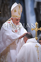 Ordination new bishops Benedict XVI at St Peter's Basilica at the Vatican September 12, 2009