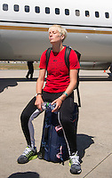 Vancouver, Canada - June 17, 2015:  The USWNT trained in Vancouver and then traveled to Edmonton in preparation for their round of 16 game in the FIFA Women's World Cup