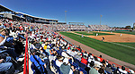 12 March 2011: Baseball fans enjoy a sunny day watching the Washington Nationals host  a Spring Training game against the New York Yankees at Space Coast Stadium in Viera, Florida. The Nationals edged out the Yankees 6-5 in Grapefruit League action. Mandatory Credit: Ed Wolfstein Photo