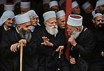 LEBANON-10067, Lebanon, Druze Elders, 03/1982<br /> <br /> PORTRAITS_APP