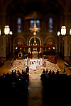 The wedding on Raul and Diahana Mejia at the Cathedral of the Blessed Sacrament, October 30, 2010.