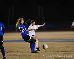 Oxford High's Eden Sandlin (3) vs. Saltillo in girls playoff soccer on Monday, February 1, 2010 in Oxford, Miss.