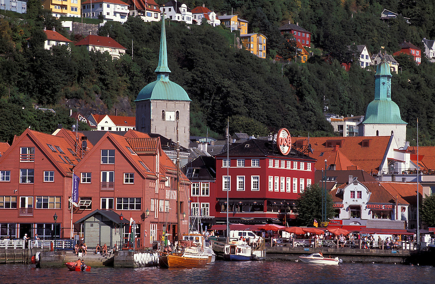 Harbor, Bergen, Norway