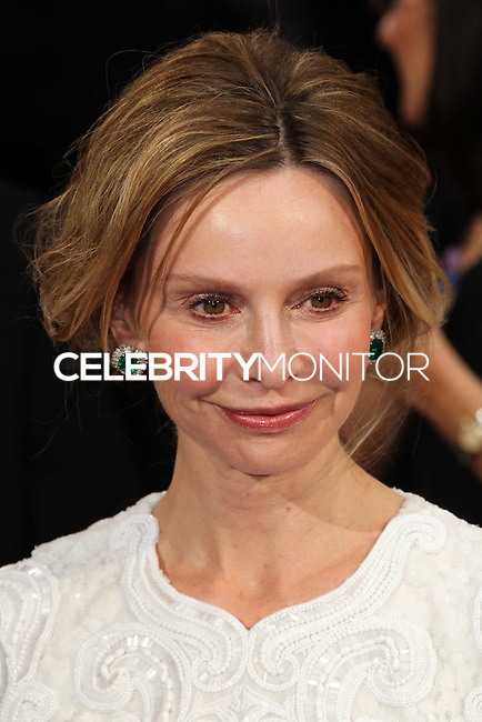 HOLLYWOOD, LOS ANGELES, CA, USA - MARCH 02: Calista Flockhart at the 86th Annual Academy Awards held at Dolby Theatre on March 2, 2014 in Hollywood, Los Angeles, California, United States. (Photo by Xavier Collin/Celebrity Monitor)
