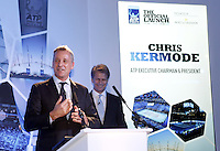 Chris Kermode, ATP Executive Chairman and President, presents the Top 8 players in the world on the ATP Tour as they attend the Official Launch of the ATP World Tour Finals at City Hall, London, 2015