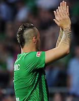 FUSSBALL   1. BUNDESLIGA   SAISON 2011/2012   TESTSPIEL SV Werder Bremen - FC Everton                 02.08.2011 Neue Frisur: Marko ARNAUTOVIC (Werder Bremen)