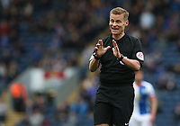 Referee Michael Jones<br /> <br /> Photographer Stephen White/CameraSport<br /> <br /> The EFL Sky Bet Championship - Blackburn Rovers v Bristol City - Monday 17th April 2017 - Ewood Park - Blackburn<br /> <br /> World Copyright &copy; 2017 CameraSport. All rights reserved. 43 Linden Ave. Countesthorpe. Leicester. England. LE8 5PG - Tel: +44 (0) 116 277 4147 - admin@camerasport.com - www.camerasport.com