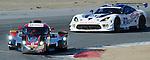 Monterey California, May 4, 2014, Laguna Seca Monterey Grand Prix, DeltaWing races through turn 2.