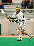 10 April 2007: University of Vermont Catamounts' Andrew Holden, a Junior from Glastonbury, CT, in action against the Holy Cross Crusaders at Moulton Winder Field, in Burlington, Vermont. The Crusaders rallied to defeat the Catamounts 5-4...Mandatory Photo Credit: Ed Wolfstein Photo