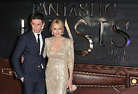 Eddie Redmayne and JK Rowling at the &quot;Fantastic Beasts and Where to Find Them&quot; European film premiere, Odeon Leicester Square cinema, Leicester Square, London, England, UK, on Tuesday 15 November 2016. <br /> CAP/CAN<br /> &copy;CAN/Capital Pictures /MediaPunch ***NORTH AND SOUTH AMERICAS ONLY***