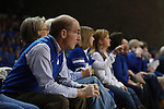 UK President Eli Capilouto watches the UK Hoops vs. Tennessee at Memorial Coliseum in Lexington, Ky., on Sunday, March 3, 2013. Photo by Emily Wuetcher | Staff....