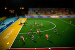 South Korea vs. The Netherlands in a women's field hockey preliminary match, Summer Olympics. Beijing, China, August 12, 2008