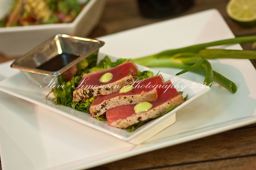 Ocean Grill Tuna Entree<br /> Mongoose Junction<br /> Cruz Bay, St. John<br /> U.S. Virgin Islands