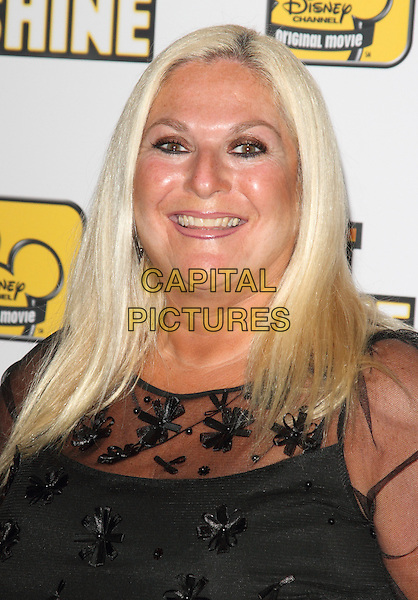 Vanessa Feltz.The 'Let It Shine' VIP screening, May Fair Hotel, London, England..July 16th, 2012.headshot portrait pink sheer.CAP/ROS.©Steve Ross/Capital Pictures.