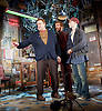 American Buffalo <br /> by David Mamet <br /> directed by Daniel Evans<br /> at Wyndham's Theatre, London, Great Britain <br /> press photocall <br /> 21st April 2015 <br /> <br /> <br /> Damian Lewis <br /> <br /> John Goodman <br /> <br /> Tom Sturridge <br /> <br /> <br /> <br /> Photograph by Elliott Franks <br /> Image licensed to Elliott Franks Photography Services