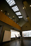 Photo shows  the interior of the modern, annex building of the Honma Museum of Art in Sakata, Yamagata Prefecture, Japan, on July 06, 2012. The annex was built in 1968 to commemorate the 20th anniversary of the founding of the museum. The older neighboring building dates back some 200 years. Photographer: Robert Gilhooly