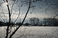 Snow scenes.08/01/10  near Great Wishford, Salisbury, Wilts