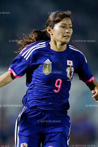 Nahomi Kawasumi (JPN), <br /> MAY 24, 2015 - Football / Soccer : MS&amp;AD Nadeshiko Cup 2015 match between Womens Japan and Womens New Zealand at Marugame stadium, Kagawa, Japan. (Photo by AFLO)