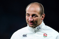 England Forwards Coach Steve Borthwick looks on after the match. RBS Six Nations match between England and Wales on March 12, 2016 at Twickenham Stadium in London, England. Photo by: Patrick Khachfe / Onside Images
