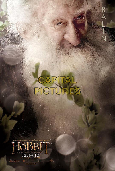 POSTER ART.in The Hobbit: An Unexpected Journey (2012).*Filmstill - Editorial Use Only*.CAP/NFS.Supplied by Capital Pictures.