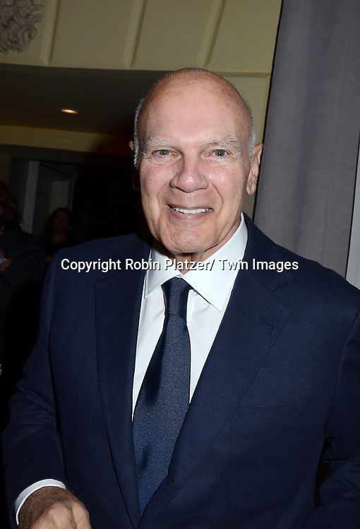 Steven Roth attends the Sirio Ristorante New York opening in the Pierre Hotel, a TAJ Hotel on October 24, 2012 in New York City. Sirio Maccioni hosted the party