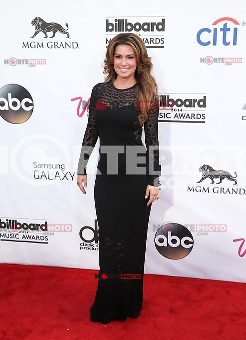 LAS VEGAS, NV - May 18 : Shania Twain pictured at 2014 Billboard Music Awards at MGM Grand in Las Vegas, NV on May 18, 2014. ©EK/Starlitepics