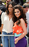 """LOS ANGELES, CA - MAY 08:  Terri Seymour and Cheryl Cole attend  the """"The X Factor"""" auditions at Galen Center on May 8, 2011 in Los Angeles, California.  (Photo by Chris Walter/WireImage)"""