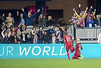 San Jose, CA - March 24, 2017: The United States Men's National Team vs Honduras at Avaya Stadium. Final score USA 6, Honduras 0.