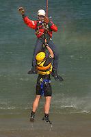 Helo aquatic rescue training